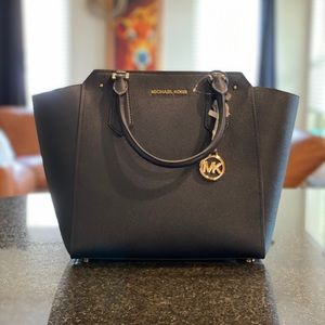 MICHAEL KORS ADMIRAL LG NS TOTE LEATHER